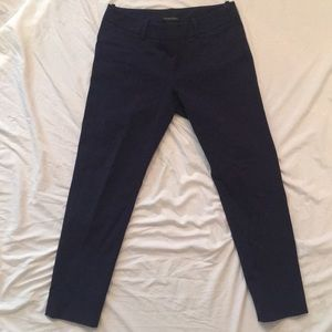 Cynthia Rowley Side Zip Crop Pant w/ Belt Loops